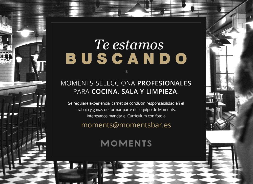 Banner oferta empleo moments